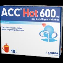ACC Hot 600 mg por belsőleges oldathoz 10x