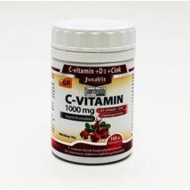 JutaVit C-vitamin 1000mg+D3+Zn+csipke retard tabl. 100x