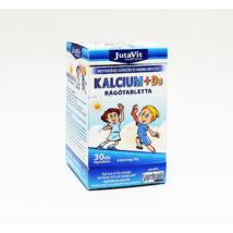 JutaVit Kalcium-D3 rágótabletta gyerekeknek 30x