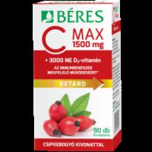 Béres C Max 1500mg csipke D3 3000NE ret.filmtabl. 90x