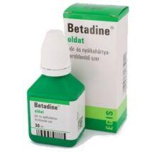 Betadine oldat (ÁFA 5%-ÚJ) 30ml
