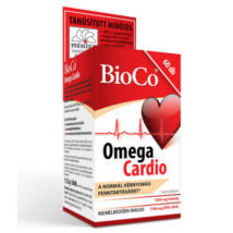 BioCo Omega Cardio lágyzselatin kapszula 60x