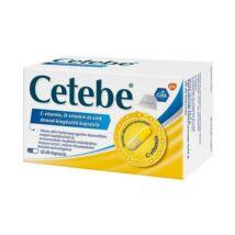 Cetebe C-vitamin + Cink + D-vitamin kapszula 60x