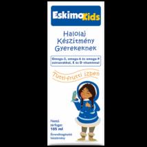 Eskimo Kids étrend-kiegészítő olaj tutti-frutti 105ml