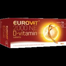 Eurovit D-vitamin 2000 NE spec. tápsz. tabletta 60x