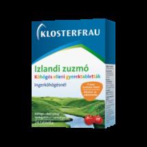 Klosterfrau Izlandi zuzmó szopogató tabl. gyerm.  24x