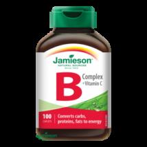 Jamieson B vitamin komplex C-vitamin tabletta 100x
