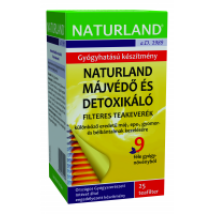 Naturland Májvédő és detoxikáló teakeverék filt. 25x1,5g