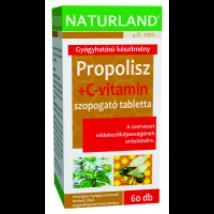 Naturland Propolisz+C-vitamin tabletta 60x