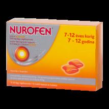 Nurofen Junior narancsízű 100 mg lágy rágókapszula 12x