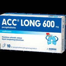 ACC 600 mg long pezsgőtabletta tasakban 10x