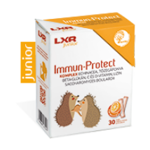 LXR Junior Immun-Protect Komplex granulátum naranc 30x