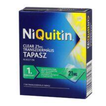 NiQuitin Clear 21 mg transzdermális tapasz 7x