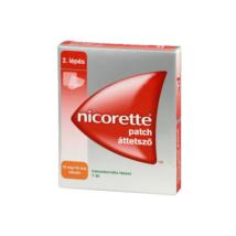 Nicorette patch áttetsző 15 mg/16 óra transz.tap. 7x