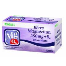 Béres Magnézium 250 mg+B6 filmtabletta 120x HDPE