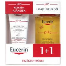 Eucerin pH5 csomag olajtusfürdő+kézkrém 200ml+75ml