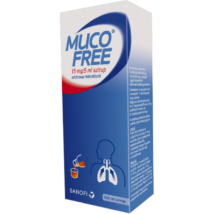 Mucofree 15 mg/5 ml szirup 1x100ml
