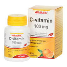 Walmark C-vitamin 100 mg narancs rágótabletta 100x