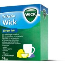Wick TriActin citrom ízű por belsőleges oldathoz 10x