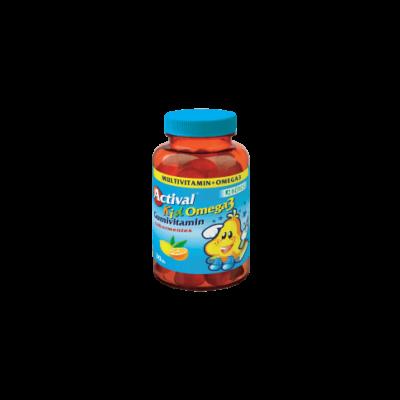 Actival Kid Omega-3 Gumivitamin gumitabletta 30x
