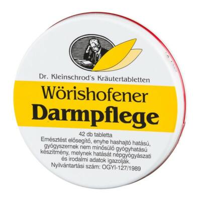 Wörishofeni Darmpflege tabletta 42x