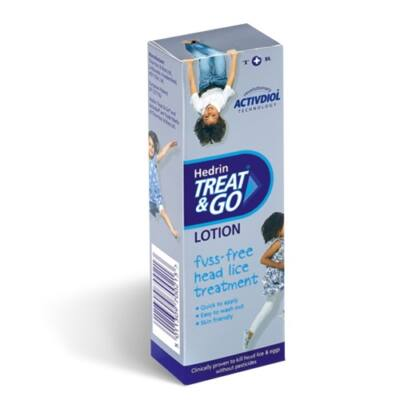 Hedrin Treat & Go lotion 50ml