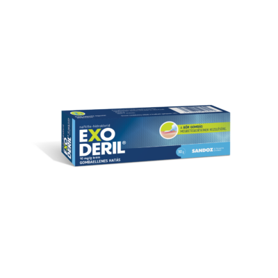 Exoderil 10 mg/g krém  1x30g