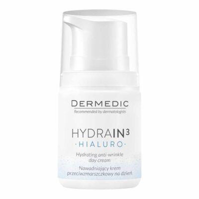 Dermedic Hydrain3 Hidratáló ránct. krém nappali 55ml