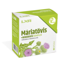 LXR Máriatövis+Benedekfű Komplex kapszula 60x