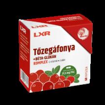 LXR Tőzegáfonya Béta-glükán Komplex kapszula 60x