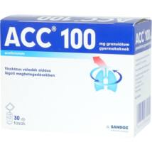 ACC 100 mg granulátum gyermekeknek 30x3g