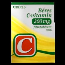 Béres C-vitamin  200 mg filmtabletta 90x
