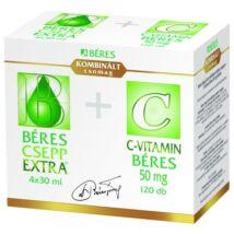Béres Csepp Extra bels. old. cseppek + C-vit.120x 4x 30ml