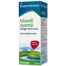 Klosterfrau Izlandi zuzmó szirup 200ml