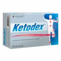 Ketodex 25 mg granulátum belsőleges oldathoz 20x tasak