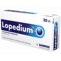 Lopedium 2 mg kemény kapszula 20x