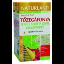 Naturland Prémium Tőzegáf+fekeáf.+cicka tea  20x1,2g