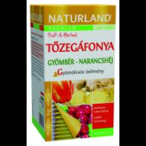 Naturland Prémium Tőzegá.-gyömb.-narancsh.filt.tea 20x2g