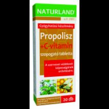 Naturland Propolisz+C-vitamin tabletta 20x