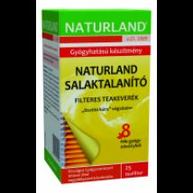 Naturland Salaktalanító teakeverék filteres 25x1g