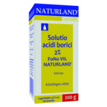 Solutio acidi borici 2% FoNo VII. Naturland 200g