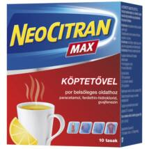 Neo Citran Max köptetővel por belsőleges oldathoz 10x