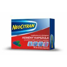 Neo Citran kemény kapszula megfázásra és köhögésre 16x