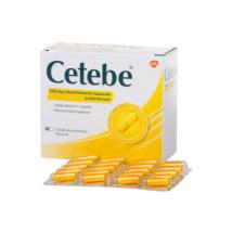 Cetebe 500 mg retard kemény kapszula 120x blisz