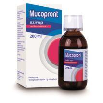 Mucopront 50 mg/g szirup 1x200ml