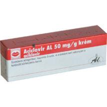 Aciclovir AL  50 mg/g krém 1x2g