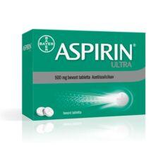 Aspirin Ultra 500 mg bevont tabletta   8x