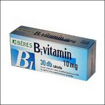Béres B1-vitamin 10 mg tabletta 30x