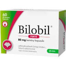 Bilobil forte 80 mg kemény kapszula 60x