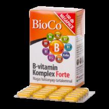 BioCo B-vitamin komplex forte tabletta 100x